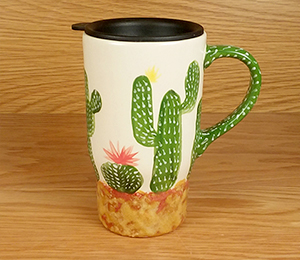 Crest View Hills Cactus Travel Mug