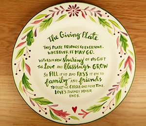 Crest View Hills The Giving Plate