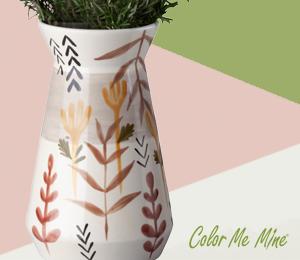Crest View Hills Minimalist Vase