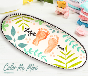Crest View Hills Tropical Baby Tray