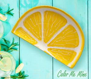 Crest View Hills Lemon Wedge