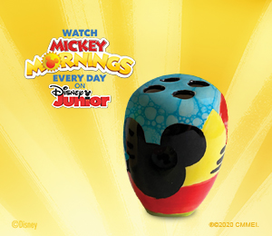 Crest View Hills Mickey's Toothbrush Holder