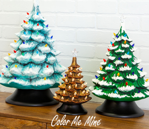 Crest View Hills Vintage Christmas Trees