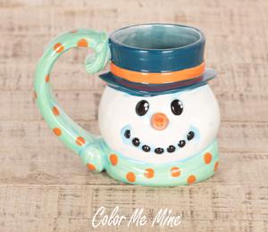 Crest View Hills Snowman Mug