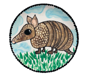 Crest View Hills Armadillo Plate