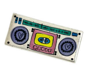 Crest View Hills Boombox Tray